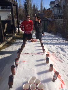Tim Hortons Beer Pong Is A Gloriously Canadian Take On The Game