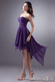 8d91a8b7b8a88 High Low Bridesmaid Dresses - B1423 Dark Purple Bridesmaid Dresses, Bridesmaid  Dresses Under 100,