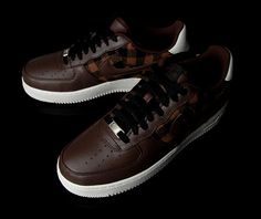 the best attitude eb60c 2c32a Nike Flannel Air Force 1