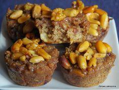 Zdrowo zakręcona: Jaglane wegańskie muffinki z orzechami w karmelu. Pyszne!