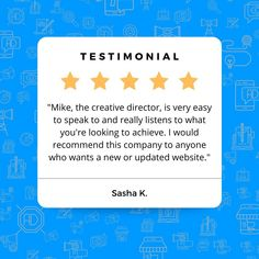 Going above and beyond for our clients is an important part of V12 Marketing's company culture. We know that no two businesses or campaigns are the same, and each requires a thoughtful approach. Thank you, Sasha, for the kind words! 😁 . . . #testimonial #webdevelopment #wordpress #googlemybusiness #concordnh #v12marketing Concord Nh, Above And Beyond, Kind Words, New Hampshire, Creative Director, Web Development, Wordpress, Campaign, Ads