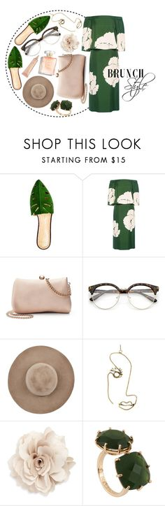 """Brunch Style"" by arodkilark ❤ liked on Polyvore featuring Charlotte Olympia, TIBI, LC Lauren Conrad, Eugenia Kim, Rosie Assoulin, Cara, Les Néréides and tarte"
