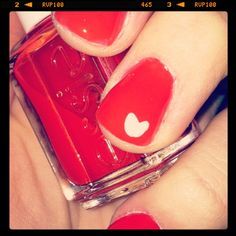 {Valentines Day Nails}