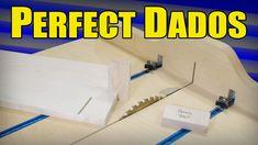 Perfect Dados Without A Dado Blade - No Measuring & No Math (ep82)
