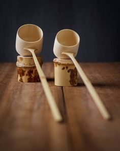 We are excited to announce these beautiful tea utensils by Artisan and friend Tango Tanimura are new