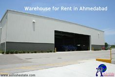 Find #warehouse for rent in #Ahmedabad as per your desired location, budget and size.