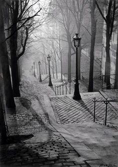 Brassai: Paris, 1936.