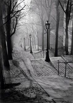 Brassai: Paris (Montmartre), 1936.