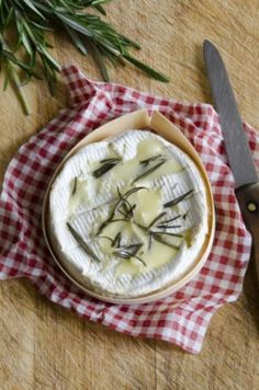 Camembert op de barbecue