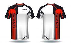 Soccer Jersey Sport T-shirt Sport Shirt Design, Sports Jersey Design, Polo Design, Ad Design, Graphic Design, Create Logo Design, Sport T-shirts, T Shirt Designs, Jersey Designs