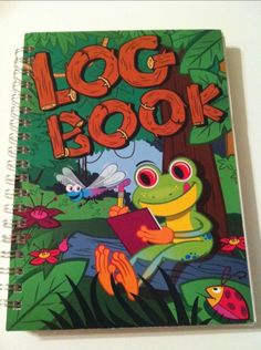 Frog Log Book...yep,  that's our log book too!