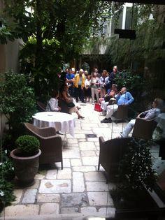 Journées Européennes du Patrimoine 2014 à l'Hôtel des Saints Pères #JEP2014 Saints, Patio, Outdoor Decor, Home Decor, Decoration Home, Room Decor, Home Interior Design, Home Decoration, Terrace