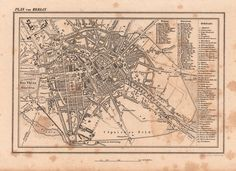 Old maps are amazing! Old Maps, Planer, Mystic, Berlin, Vintage World Maps, Amazing, Image, Vintage Maps, Antiquities