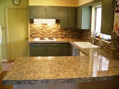 9 Backsplash Ideas for Small Kitchens using Neutral Colors - kitchen set is…