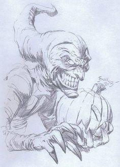 Green Goblin by David Finch *