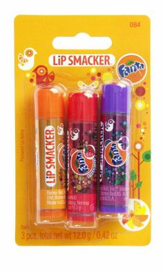 Lip Smacker Coca Cola Fanta Lip Balm Pack of 3: Amazon.co.uk: Beauty