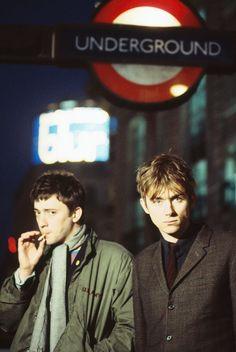 Graham Coxon and Damon Albarn