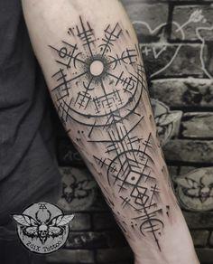 42 Tattoo, Calf Tattoo, Forearm Tattoos, Body Art Tattoos, Hand Tattoos, Sleeve Tattoos, Samoan Tattoo, Tribal Tattoos, Viking Tattoo Sleeve