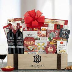 Wine Gift Baskets - Wine Duo Gift Basket
