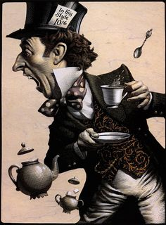 The Mad Hatter-Mark Summers
