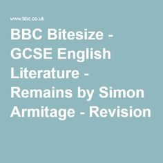 Bbc bitesize gcse english literature form structure and bbc bitesize gcse english literature remains by simon armitage revision 1 ideas and inspiration for teaching gcse english gcse english urtaz Image collections