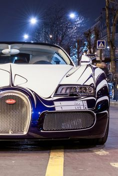 Bugatti - not only a very luxurious car but a very sexy car as well. Most Expensive Cars