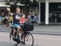 Binnenkant : Hollands fietsen!