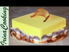 МУССОВЫЙ ТОРТ ГРУШИ С ФРАНЖИПАНОМ | Pear Mousse Cake with Frangipane - YouTube