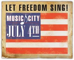 For all the details on Music City July 3rd & 4th, visit www.visitmusiccity.com/july4th __If you're coming downtown for 4th of July festivities on the river, plan to come a little early and visit the Frist Center #FREE of charge if you're wearing red, white and/or blue.