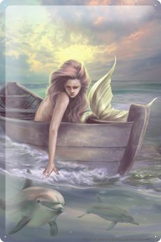 Selina Fenech Blechschild Fantasie Bild Motiv Boot Deko Metall Schild 20x30 cm: Amazon.de: Küche & Haushalt