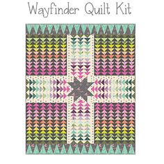 Tula Pink Wayfinder Spirit Animal Complete Fabric Quilt Kit 64 x 76  - Free Shipping by PrivateSourceQuiltin on Etsy