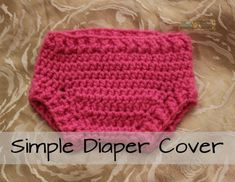 Simple Diaper Cover