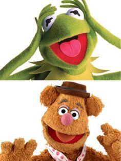 Kermit, Fozzie