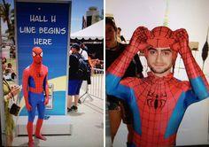 Daniel Radcliffe / Celebrità in incognito al Comic-Con