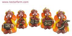 Handmade Terracotta Ganesha