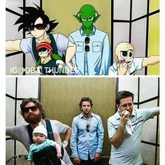 Lol! Wtf i want to be part of that hangover   follow: @dbz_thunder  please give credit if reposted thanks Follow: @dbz.go for more hot content! stay saiyan!  Your Opinion Is Important: Leave A Comment