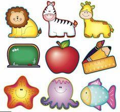 Manualidades fáciles y lindas: Gafette para preescolar