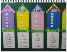 """Silabário   """"Reino das Letras""""   ~~~~~~~~~~~~~~~~~~   O """"Condomínio Reino das Letras"""" foi inaugurado!!! No programa do dia 26/04/16, no c... Speech Language Therapy, Speech And Language, Cvc Words, Home Schooling, Classroom Themes, Happy Kids, France, Montessori, Activities"""