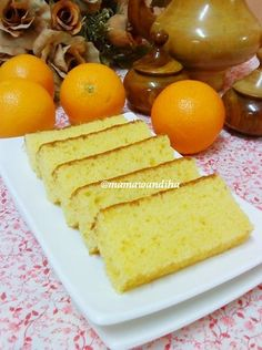 Dari Dapur MaDiHaA: Blended Orange Cake