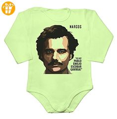 Yo Soy Pablo Emilio Escobar Baby Long Sleeve Romper Bodysuit Large - Baby bodys baby einteiler baby stampler (*Partner-Link)