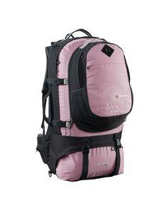 Pink Ladies Travel Backpack   Highlander Explorer 80 20L   Buy ...