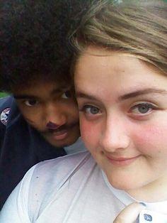 Hannah and I looking cute as fuck.