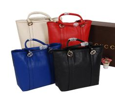 Gucci Miss GG Calf Leather Tote Bag 336756 - $249.00