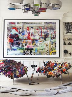 Oh those crazy Campana Brothers and their wacky chairs… Totally amazingly wonderful design and just love it all! Stimulation is the name of the game for moi!