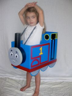 Thomas the Train Halloween toddler costume