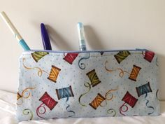 DIY Easy Zippered Pouch