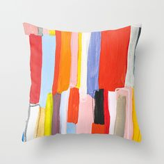 Library Throw Pillow by Emily Rickard | Society6