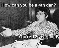 Martil arts humor. Fake Bruce Lee memes Martial arts community on facebook