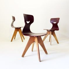 Stunning children's chairs from the 1950's made by Flötotto. Soon on www.19west.de. #19west #1950 #c by 19WestFurniture on 500px