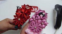 How To Make Fabric Flowers,DIY Kanzashi Flower,video 567